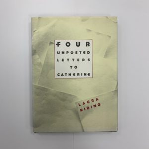 Four Unposted Letters to Catherine front cover
