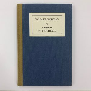 What's Wrong front cover