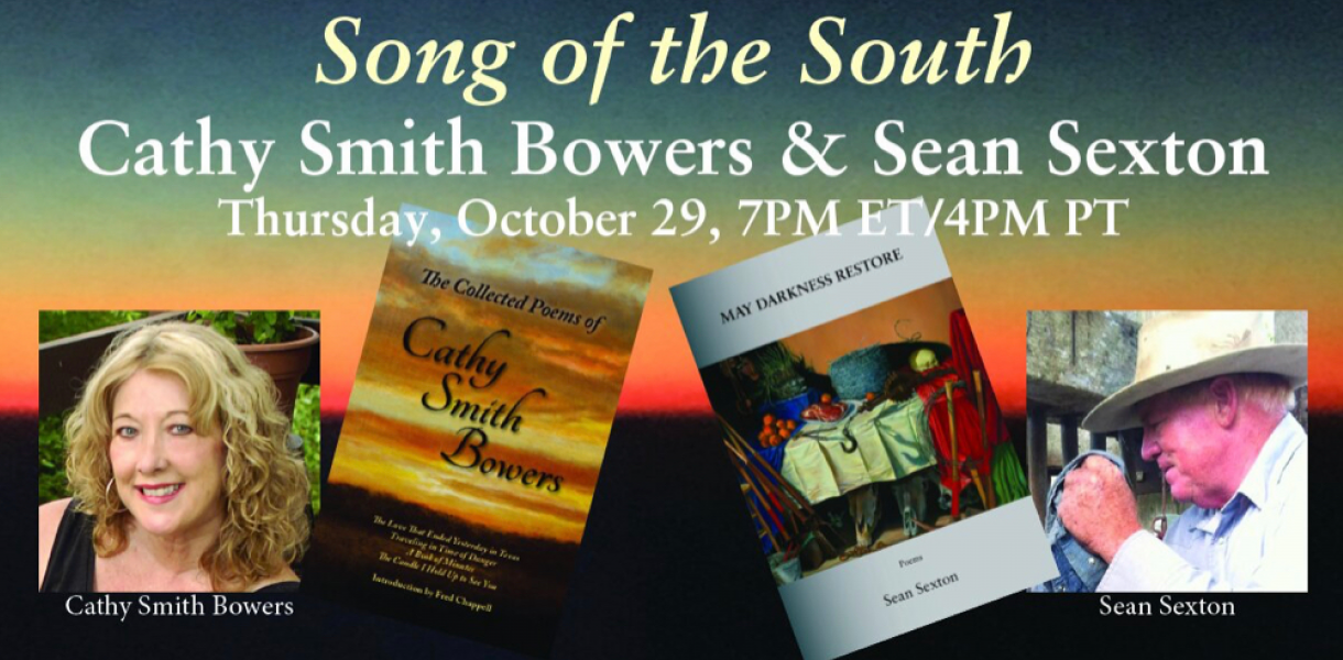Song of the South: Cathy Smith Bowers and Sean Sexton flyer