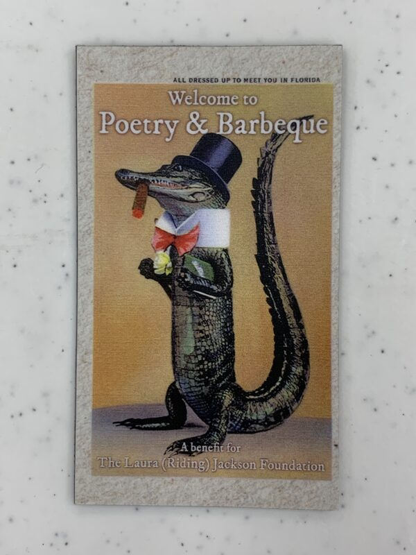 Poetry & Barbeque Magnet