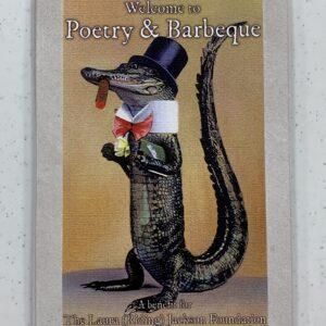 Welcome to Poetry & BBQ Note Card