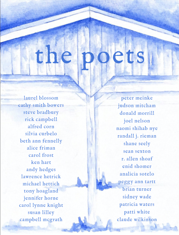Decade; Ten Years of Poetry and Barbeque Back Cover