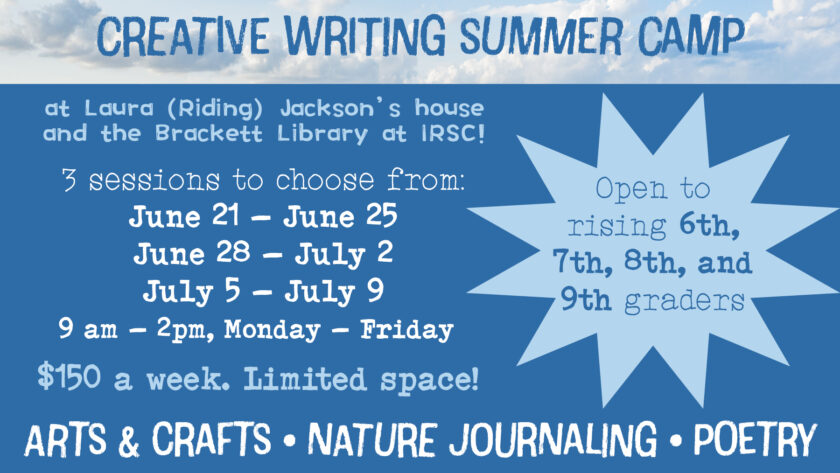 Write In The Middle Summer Camp
