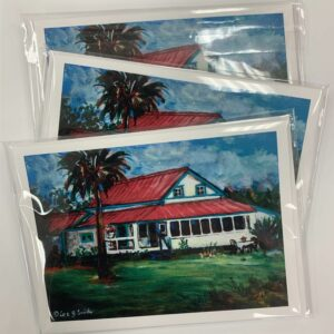 LRJF Painted House Notecards