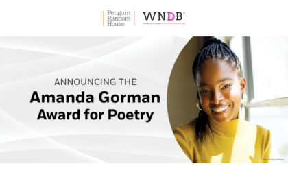 Announcing the Amanda Gorman award for poetry