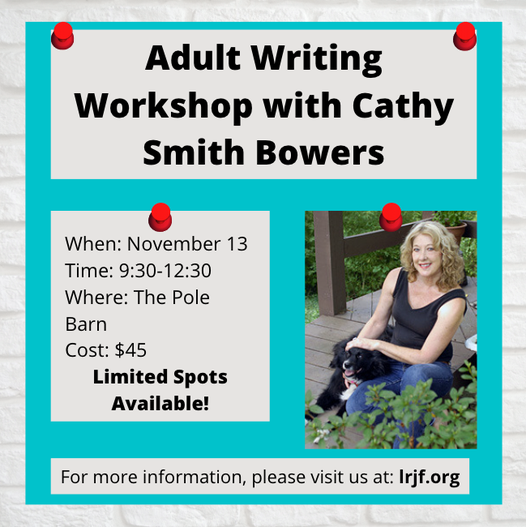 Adult Writing Workshop with Cathy Smith Bowers! – SOLD OUT